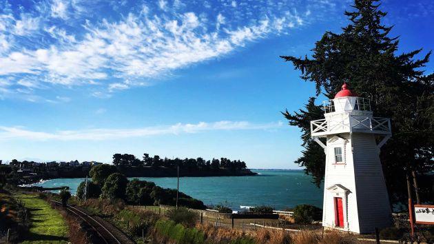 Blacketts lighthouse on Dashing Rocks walk